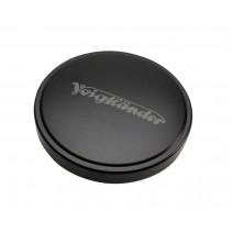 Voigtländer-Voigtlander 44mm Metal Push-On Lens Cap Black