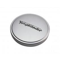 Voigtländer-Voigtlander 44mm Metal Push-On Lens Cap Silver