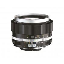 Voigtländer-Voigtlander 58mm f1.4 SL II-S Nokton Nikon Fit Silver Lens