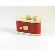 LEROUGE-LEROUGE 135 Pinhole Camera Red