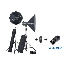 Elinchrom-Elinchrom BRX 500/500 Softbox To Go Set + Sekonic L478DR-EL 20761.3