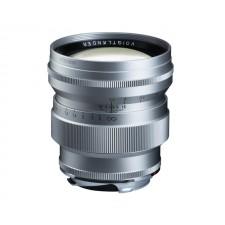 Voigtländer-Voigtlander 75mm f1.5 VM ASPH Vintage Line Nokton Silver Lens