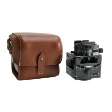 Arca Swiss Tripod Heads-Arca Swiss C1 Cube GP Tripod Head Geared Panning with Quickset FlipLock Device and Leather Case