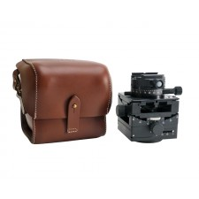Arca Swiss Tripod Heads-Arca Swiss C1 Cube Head with Geared Panning and Quickset Classic Device and Leather Case