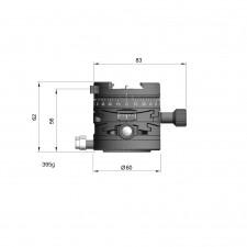 Arca Swiss Tripod Heads-Arca Swiss L60 Leveller Conversion with MonoballFix Device