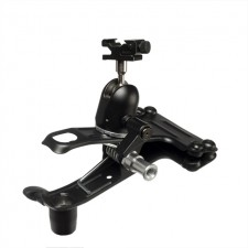 Quantum-Quantum Studio Clamp with Ball & Socket Head and Flash Shoe
