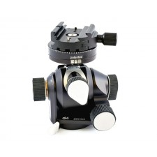 Arca Swiss Tripod Heads-Arca Swiss D4 Geared Tripod Head with Quickset Classic Device