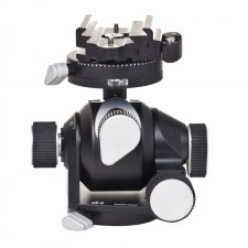 Arca Swiss Tripod Heads-Arca Swiss D4 Geared Tripod Head with Quickset Fliplock Device