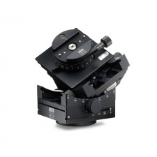 Arca Swiss Tripod Heads-Arca Swiss C1 Cube Tripod Head with Geared Panning and MonoballFix Device and Leather Case