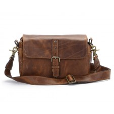 Ona-Ona Bowery Shoulder Bag - Antique Cognac Leather