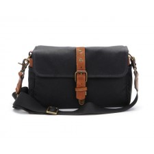 Ona-Ona Bowery Shoulder Bag - Black Canvas