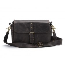 Ona-Ona Bowery Shoulder Bag - Dark Truffle Leather