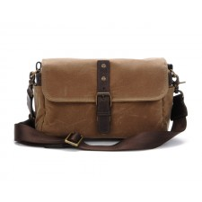 Ona-Ona Bowery Shoulder Bag - Field Tan Canvas