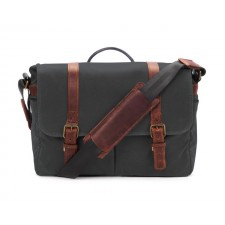 Ona-Ona Brixton Messenger Bag - Black Canvas