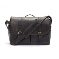 Ona-Ona Brixton Messenger Bag - Dark Truffle Leather