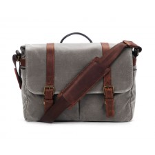 Ona-Ona Brixton Messenger Bag - Smoke Canvas