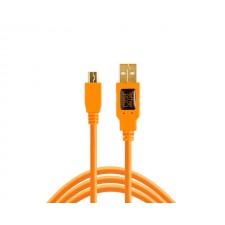 Tether Tools-TetherTools CU5407 TetherPro USB 2.0 A Male to Mini-B 5 Pin 6' (1.8m) Cable