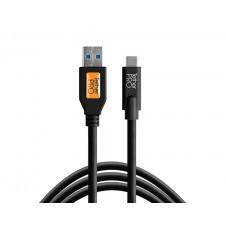 Tether Tools-TetherTools CUC3215-BLK TetherPro USB 3.0 to USB-C, 15' (4.6m) Black Cable