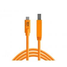 Tether Tools-TetherTools CUC3415-ORG TetherPro USB-C to 3.0 Male B, 15' (4.6m) Orange Cable