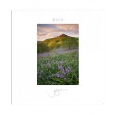 Robert White-Joe Cornish Desk & Wall Calendar 2019