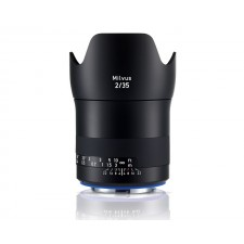 Zeiss-Zeiss 35mm f2 Milvus Wide Angle SLR Lens Canon ZE Fit