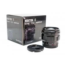 Voigtländer-Ex-Demo Voigtlander 50mm f1.2 Nokton Aspherical E-Mount Lens