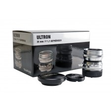 Voigtländer-Ex-Demo Voigtlander 35mm f1.7 VM ASPH Vintage Line Ultron Silver Lens