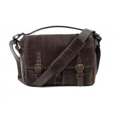 Ona-Ona Prince Street Messenger Bag - Dark Truffle Leather