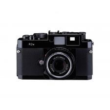 Voigtländer-Voigtlander Bessa R2M Rangefinder Camera Body Black