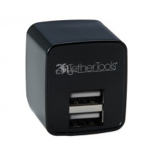 Tether Tools-TetherTools RSUWA Rock Solid Dual USB to AC Wall Adapter (U.S. Standard)