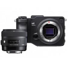 Sigma Imaging-Sigma SD Quattro Digital Camera Body + 30mm f/1.4 DC HSM Art Lens Kit @ZL900