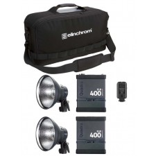 Elinchrom-Elinchrom ELB 400 Action Twin Set