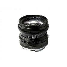 Voigtländer-Voigtlander 50mm f1.5 VM ASPH Vintage Line Nokton Black Lens