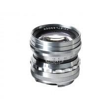 Voigtländer-Voigtlander 50mm f1.5 VM ASPH Vintage Line Nokton Silver Lens