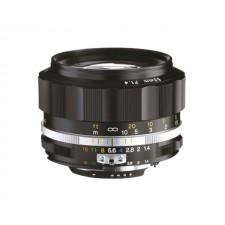 Voigtländer-Voigtlander 58mm f1.4 SL II-S Nokton Nikon Fit Black Lens